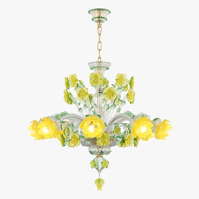 chandelier md 89330-8 osgona 3D model