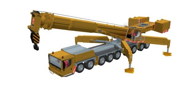 mobile crane 3D model