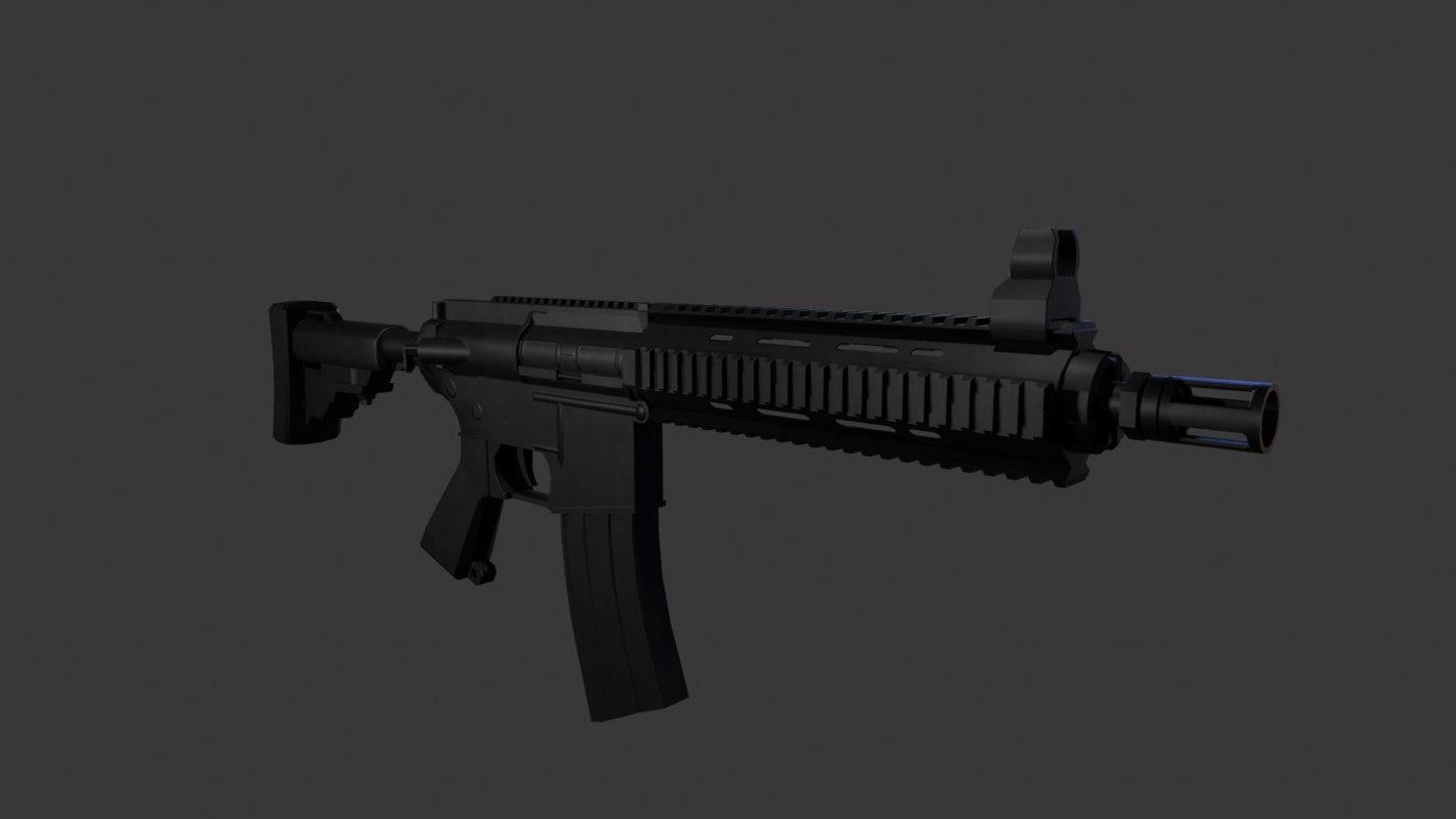 ar-15 3D