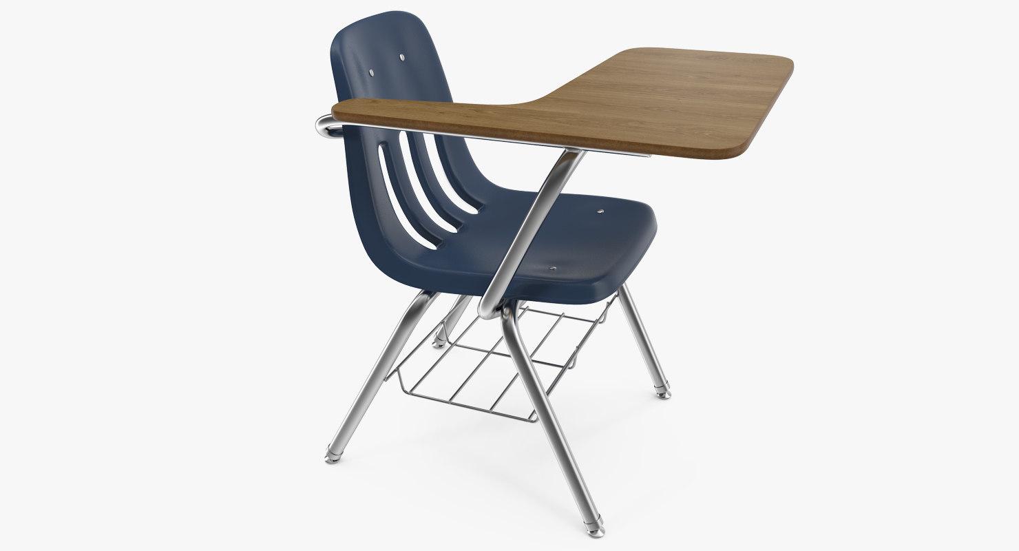 school desk chair 3d model turbosquid 1222969 rh turbosquid com school desk chair india school desk chair for sale