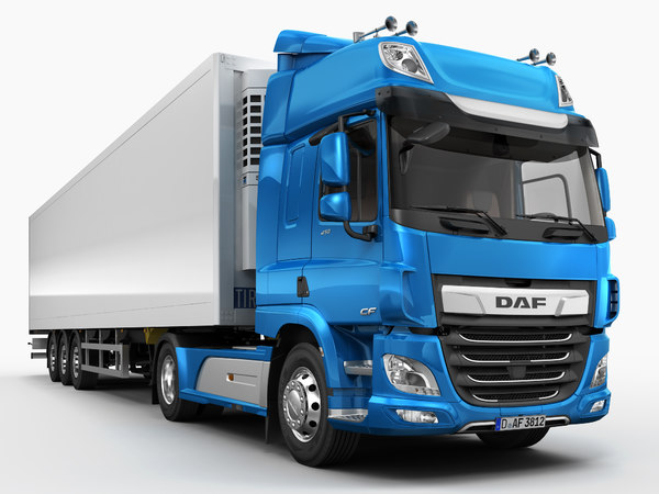 3D model daf cf space cab