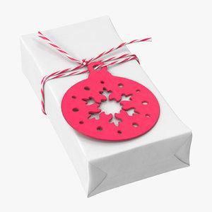 3D christmas gift 03 01 model