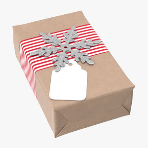 christmas gift 03 02 3D