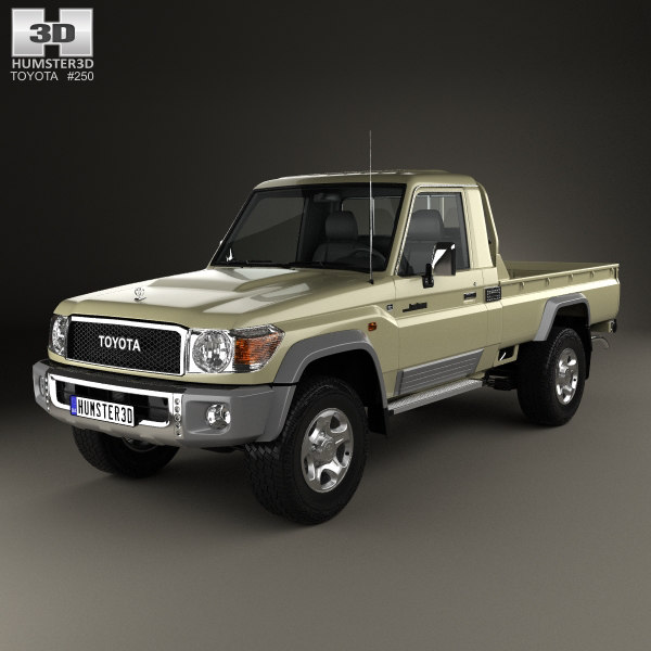 3D toyota land cruiser model