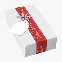 3D model christmas gift 03 05