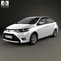 toyota yaris se 3D model
