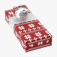 christmas gift 03 06 3D model