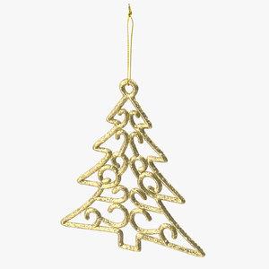 tree shaped ornament 01 model