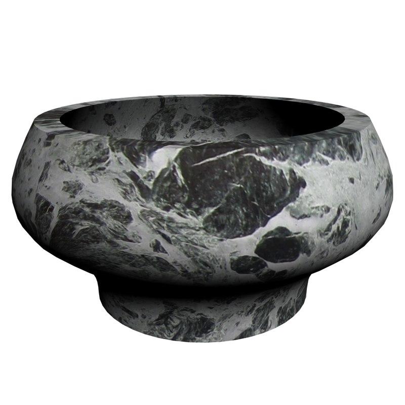 3D model marble pot