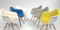 Vitra Eames Plastic Armchair DAW set
