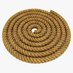 rope pose 3 3D