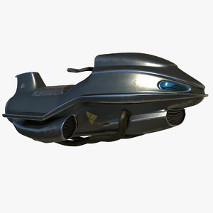3D space motorcycles model