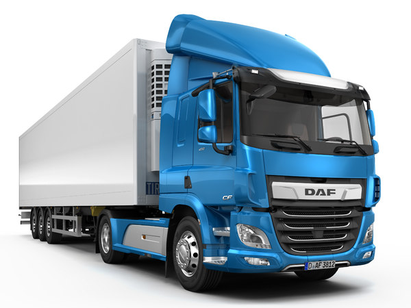 daf cf sleeper cab 3D model