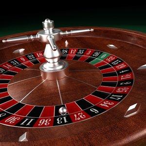 roulette wheel 3D