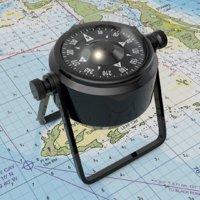 3D marine compass