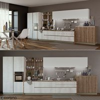 kitchen infinity stosa 3D model