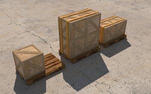 wood palette 3D