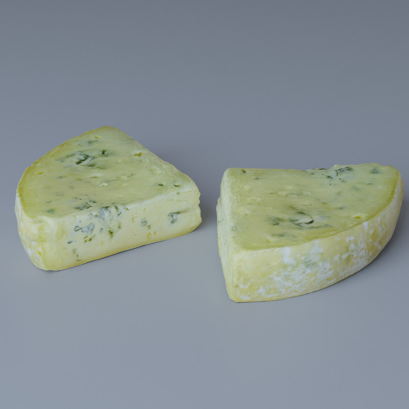 3D model blue cheese