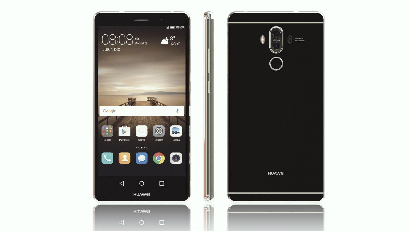 Huawei Mate 9 3d Model Turbosquid 1223172 6.3 inç genişliğe sahip olan ekranı, 720 x 1600 piksel çözünürlüğünde hd+ görüntüler sunuyor. huawei mate 9