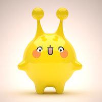 mascot 3D model