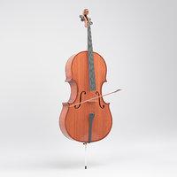 3D classical cello