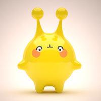 3D mascot