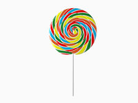 3D lollipop