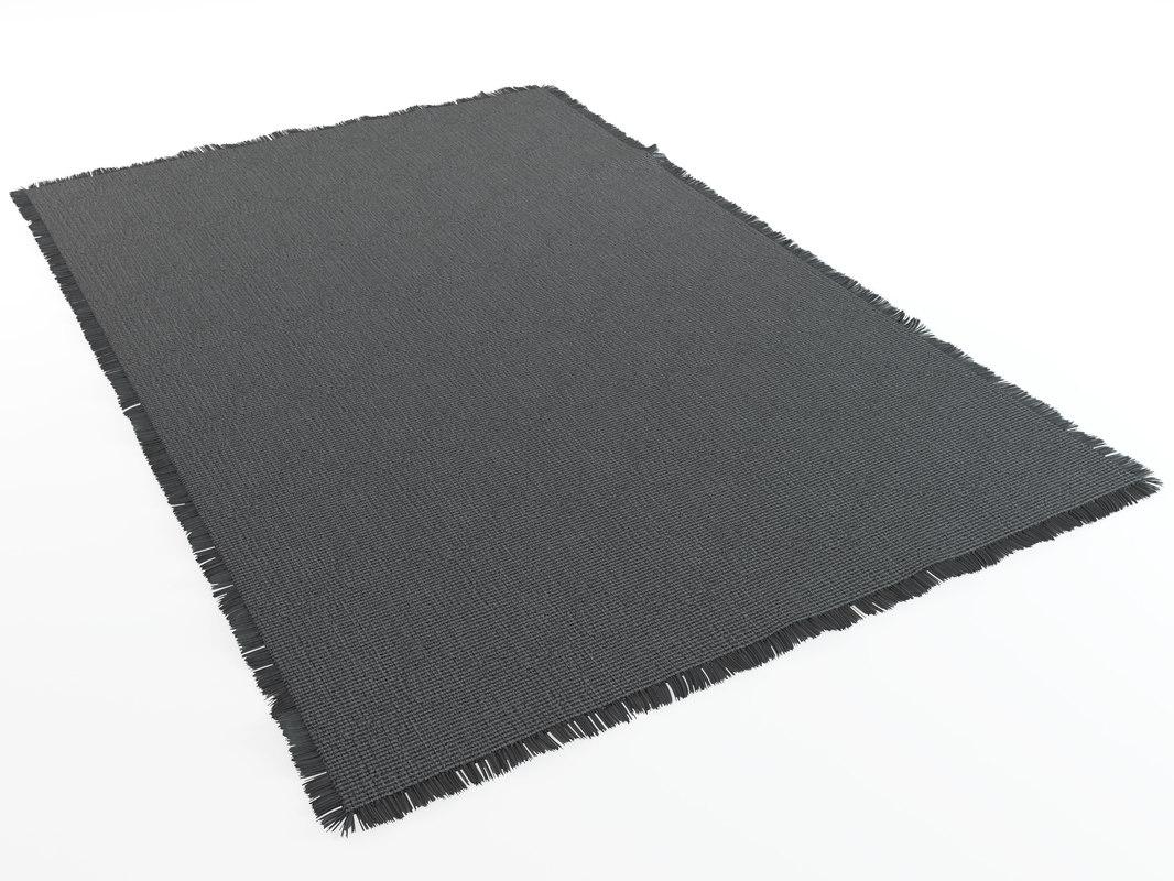 3D rugs pitagora natuzzi model