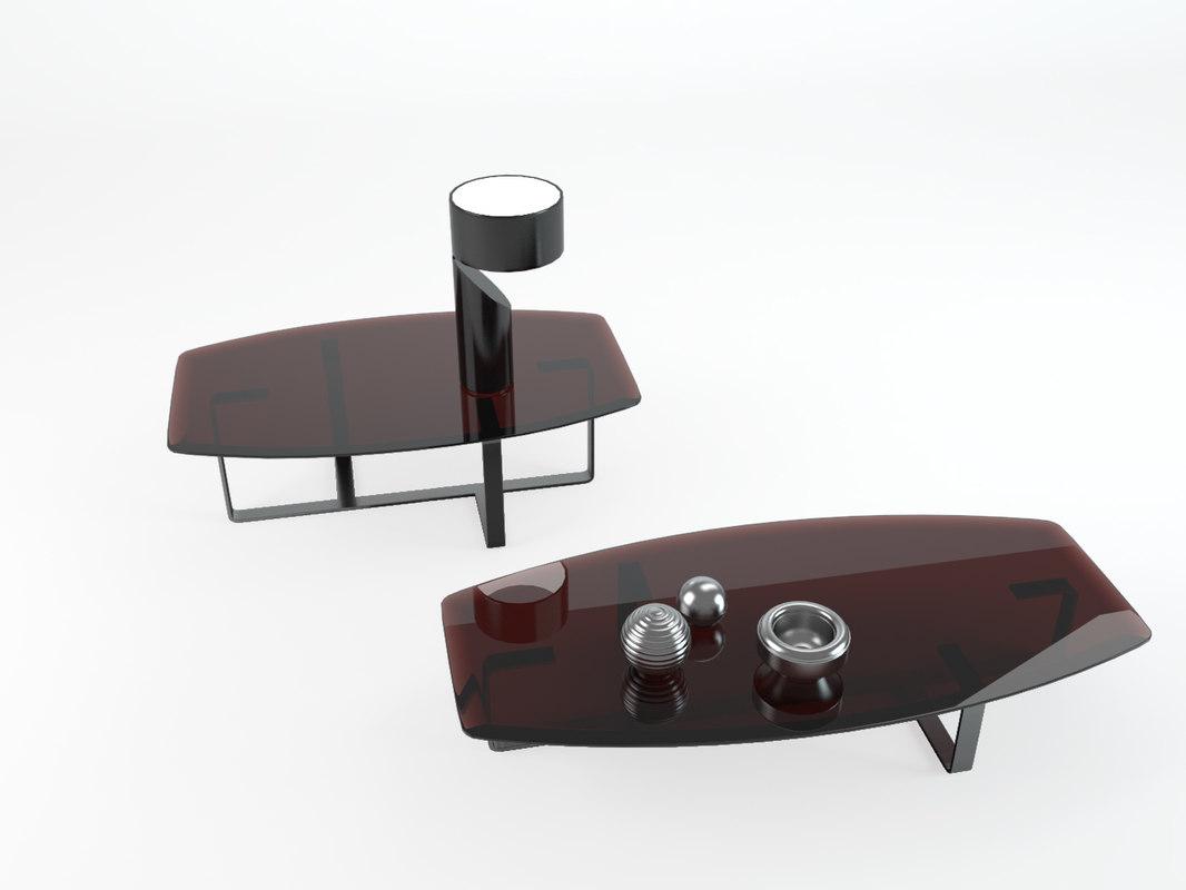 table tempo natuzzi model