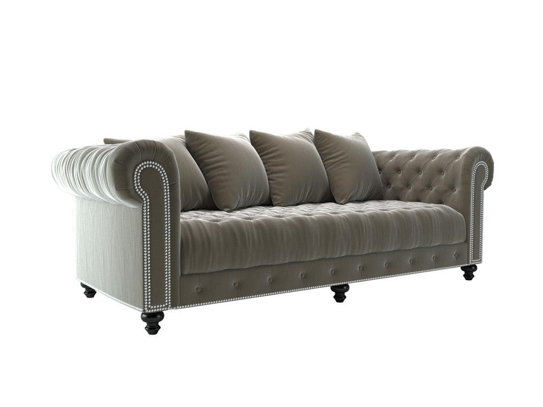 3D sofa wakefield bellagranite