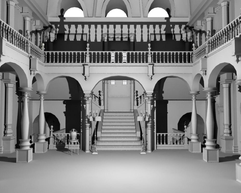 3D spencer mansion