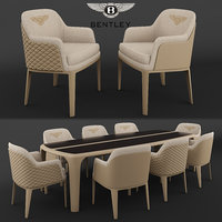 bentley kendal chair bradley 3D model