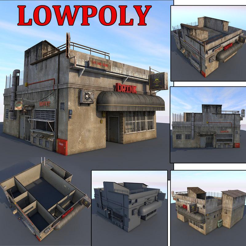 3D shop games ready
