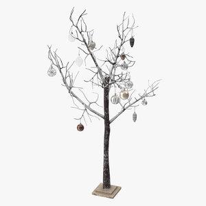 3D model christmas tree 02