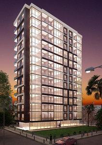 modern apartment 12 3D model