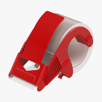 3D packing tape clear dispenser