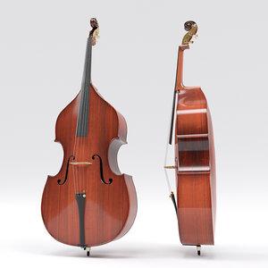 double bass 3D