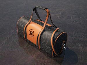 3D branded bag brabus