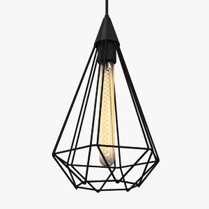 ceiling lamp 3D