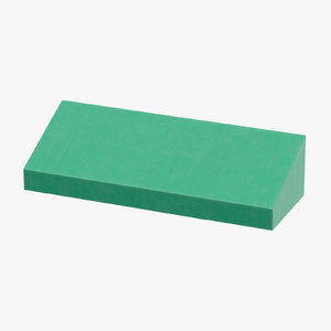 store awning 01 green 3D model