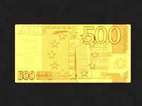 500 euro model