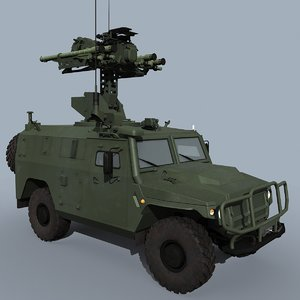 gibka-s russian defence 3D model