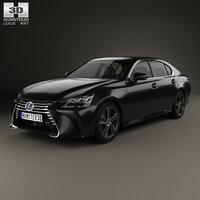 lexus gs hybrid 3D
