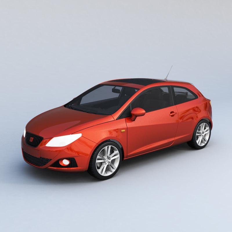 3D ibiza car