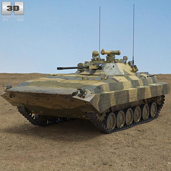 bmp-2 2 3D model