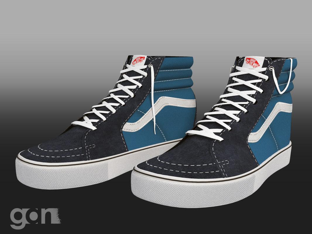 3D shoes s model