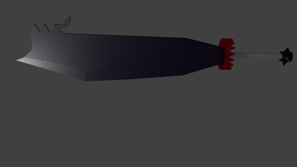 heavy sword 3D