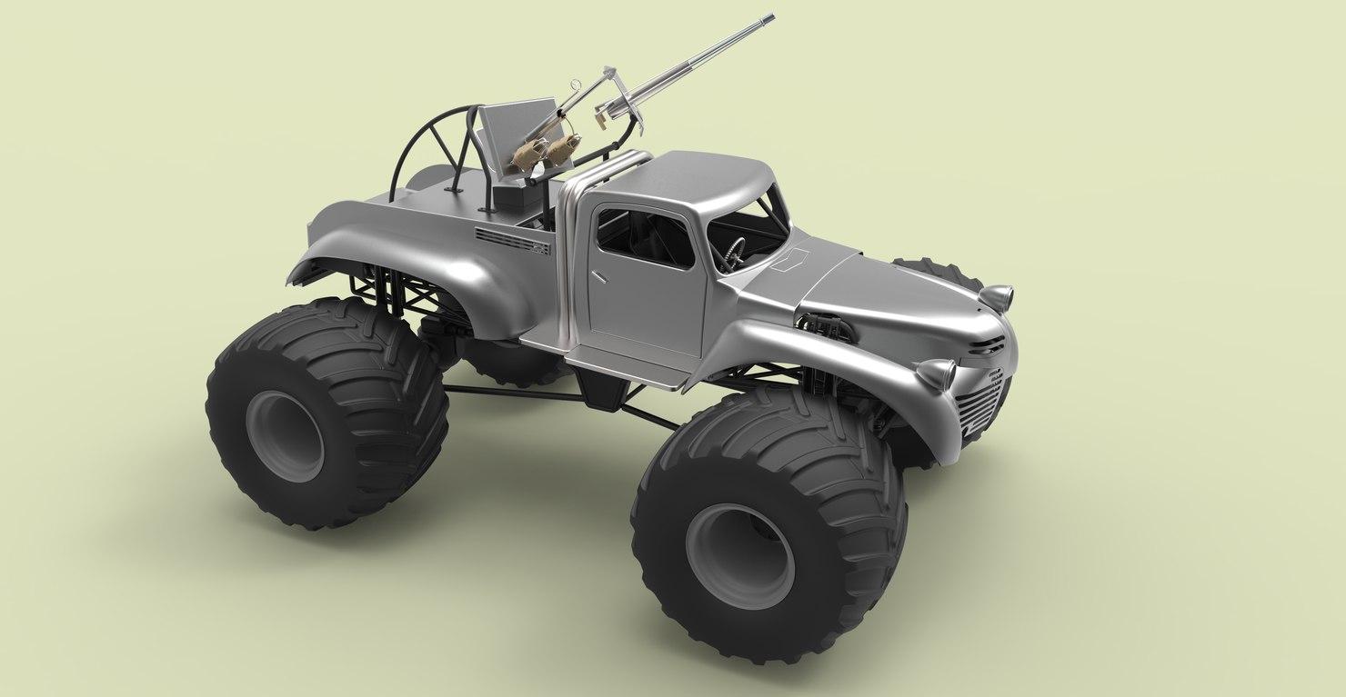 bigfoot monster truck model