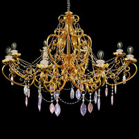 chandelier architecture 3D model