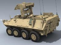 armored desert 3D